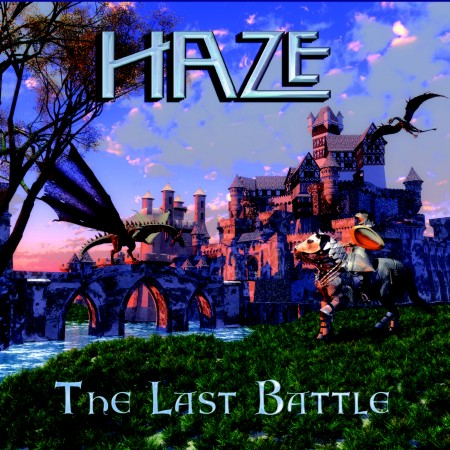 Haze - The Last Battle CD, artwork by Jilaen Sherwood